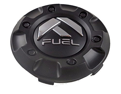 Fuel Matte Black Custom Wheel Center Cap ONE (1) M-447, 1001-58