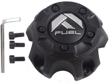 Load image into Gallery viewer, Fuel Matte Black Wheel Center Cap ONE (1) 1001-57MB M-454 - with Screws