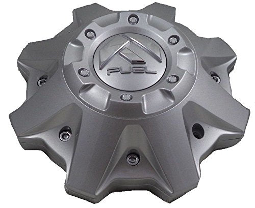 Fuel Gray Wheel Center Caps Set of ONE (1) 1002-53V M-447 8-Lug 1002-53