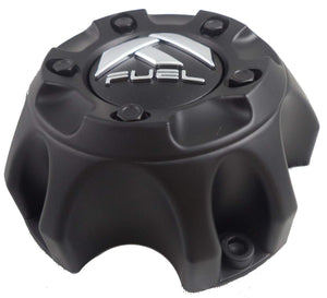 Fuel Matte Black Wheel Center Cap ONE (1) 1001-57MB M-454 - with Screws