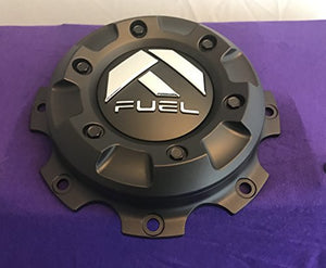 Fuel Matte Black Wheel Center Caps Set of One (1) 1003-27MB