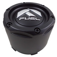 Load image into Gallery viewer, Fuel Matte Black Black Rivets Custom Wheel Center Caps Set of Four (4) 1003-50MB
