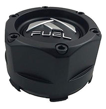 Load image into Gallery viewer, Fuel Matte Black Custom Wheel Center Cap (QTY 2) 1003-48b
