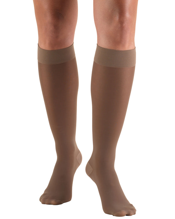 TRUFORM Women's LITES Knee High Support Stockings 15-20 mmHg