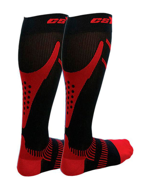CSX Womens Advanced+ Firm Compression Ultra Run Socks