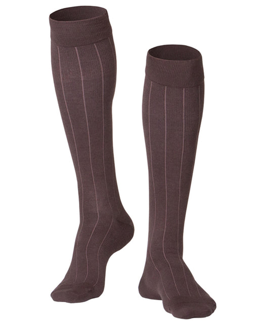 Touch Men's Iintelligent Rib Pattern Knee Highs 15-20 mmHg