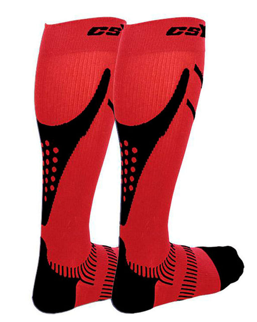 CSX Recovery+ Pro 15-20mmHg Knee High Compression Socks