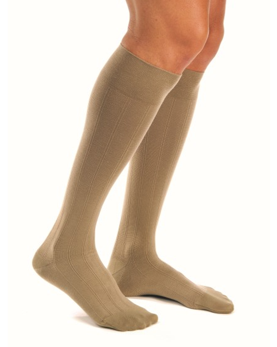 Jobst for Men Extra Firm Casual Knee High Support Socks 30-40mmHg