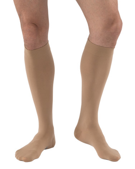 Jobst Relief Knee Highs Closed Toe Unisex 15-20 mmHg