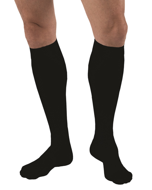 Jobst for Men Moderate Support Closed Toe Knee Highs 15-20 mmHg