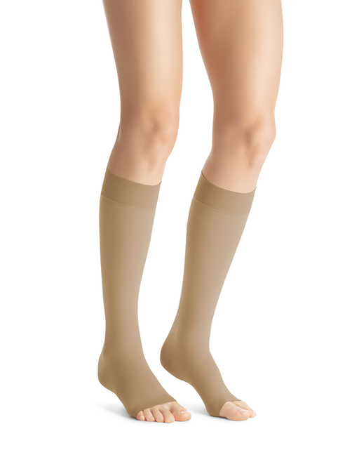 Jobst Opaque OPEN TOE 15-20 mmHg Knee Highs