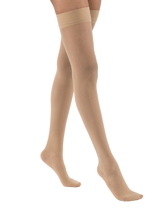 Jobst Ultrasheer Thigh Highs w/ Silicone Dotted Top Band 15-20 mmHg