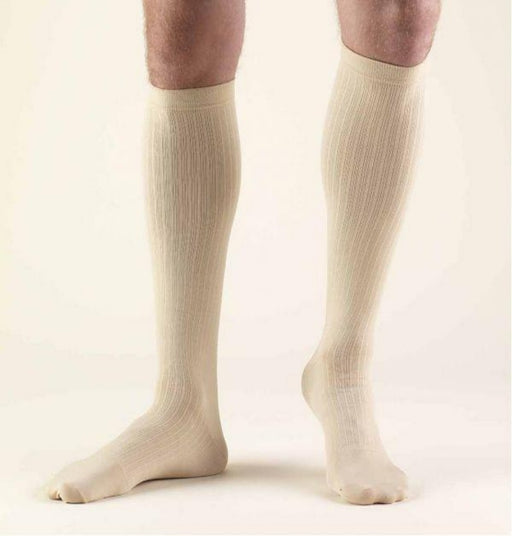 Second Skin Men's 8-15 mmHg Dress Knee High Socks