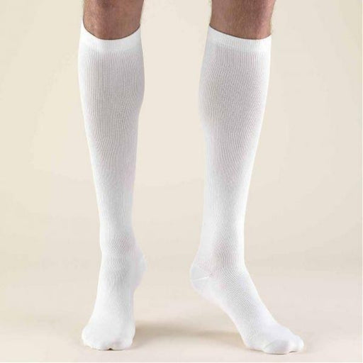 Second Skin Men's 15-20 mmHg Dress Knee High Socks