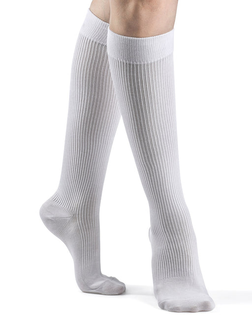 Sigvaris 360 Cushioned Cotton Women's Closed Toe Knee High 20-30 mmHg - 362C