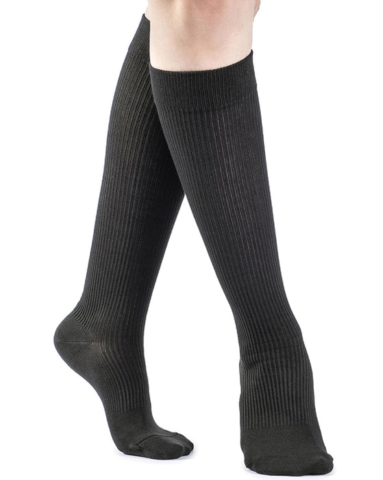 Sigvaris Women's Cotton Maternity Knee High Socks 15-20 mmHg