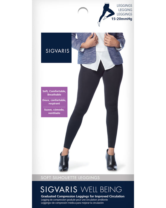 Sigvaris Women's Soft Silhouette Leggings 15-20 mmHg - 170L