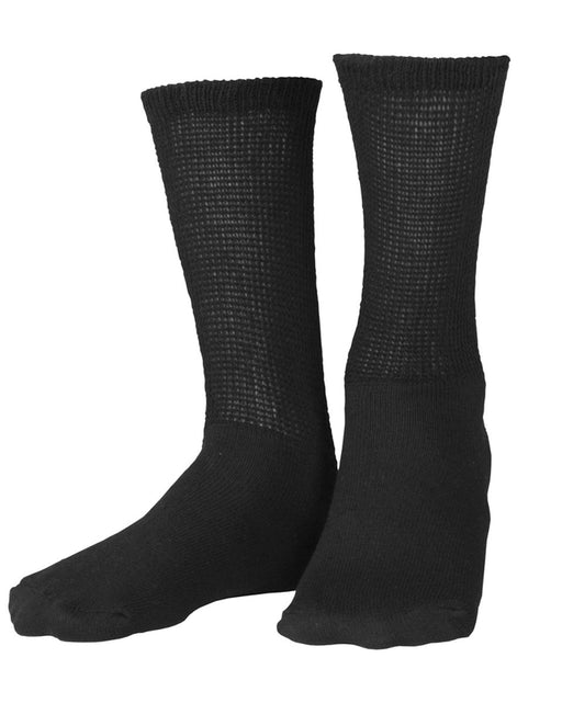 Second Skin Soft Diabetic 8-15 mmHg Crew Length Socks