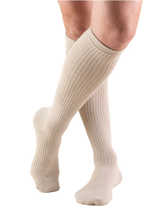 TRUFORM Men's Casual and Athletic Knee High Socks 15-20 mmHg