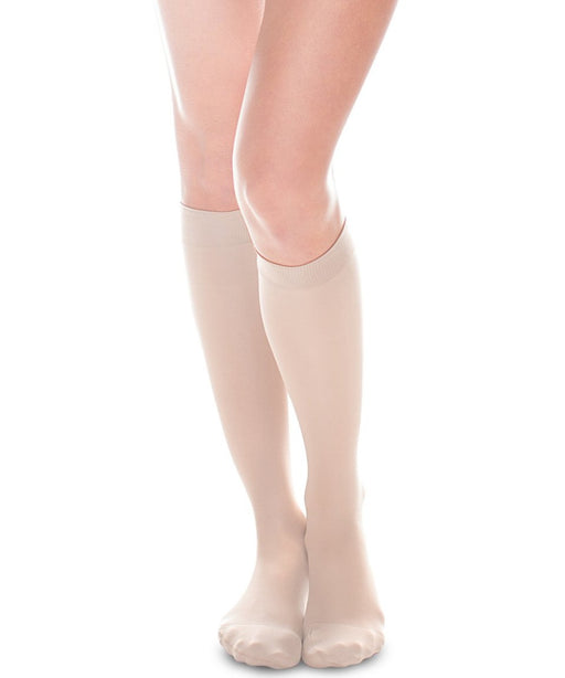 Therafirm Sheer Ease Women's Closed Toe Knee High Stockings 20-30mmHg
