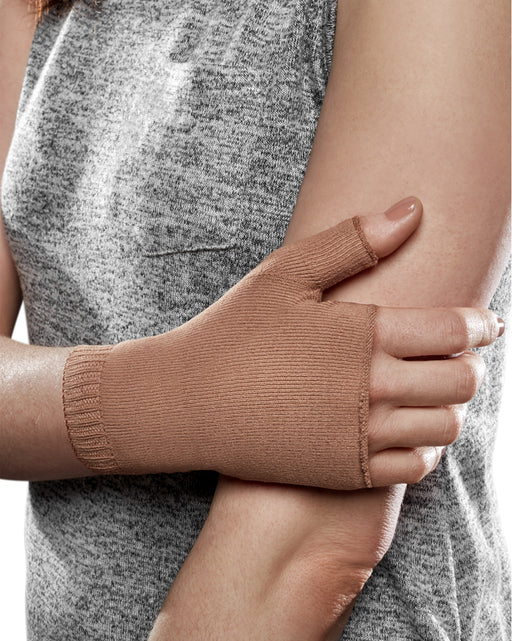Therafirm Ease Opaque Lymphedema Gauntlet 20-30 mmHg