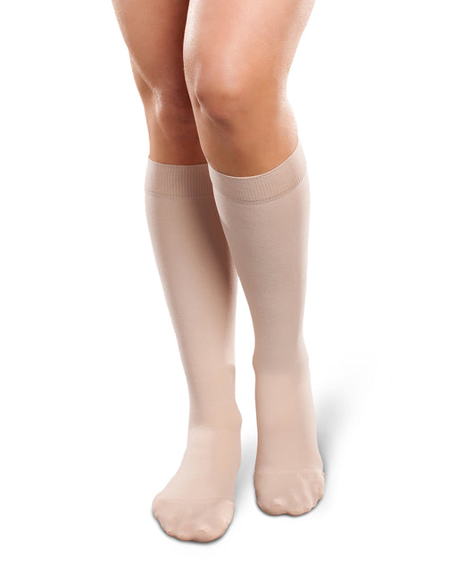 Therafirm Ease Opaque Women's Closed Toe Knee High 20-30 mmHg