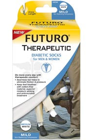 Futuro Therapeutic Diabetic Crew Socks For Men & Women
