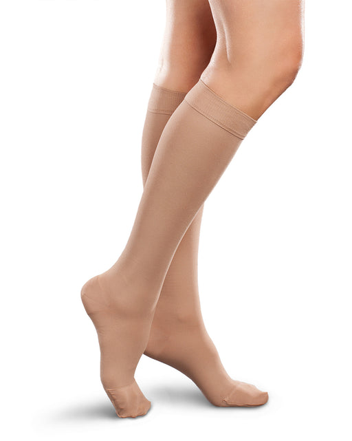 Therafirm Ease Opaque Women Closed Toe Knee High 30-40 mmHg