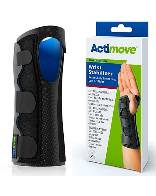 Actimove Wrist Stabilizer w/Removable Metal Stay, Sports Edition - 75729