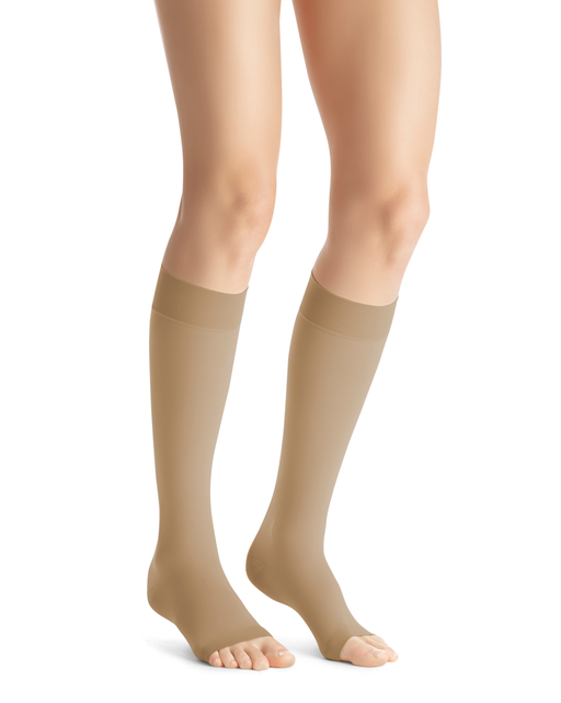Jobst Opaque SoftFit OPEN TOE 15-20 mmHg Knee Highs