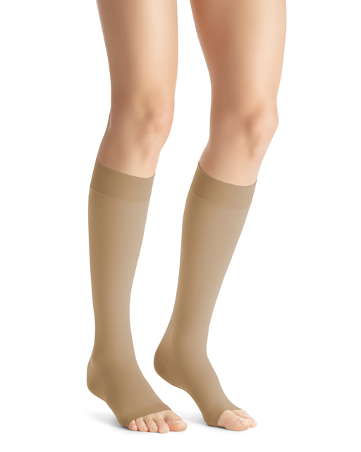 Jobst Opaque SoftFit OPEN TOE Knee Highs 20-30 mmHg