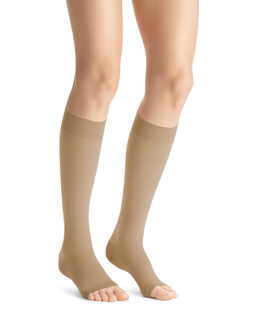 Jobst Opaque SoftFit OPEN TOE Knee Highs 30-40 mmHg