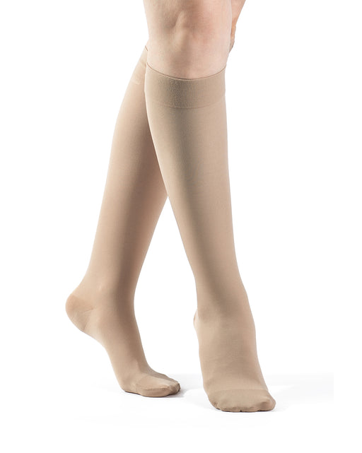 Sigvaris 860 Select Comfort Series Women's Closed Toe Knee Highs 20-30mmHg - 862C