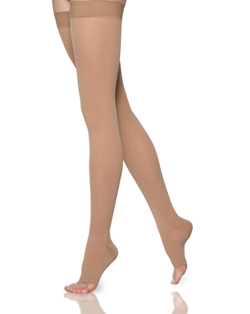 Sigvaris 860 Select Comfort Open Toe Unisex Thigh High 30-40 mmhg - 863N