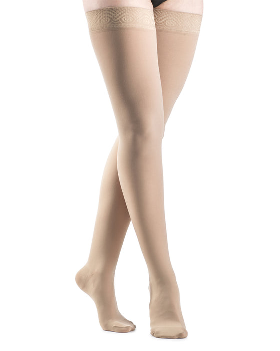 Sigvaris 860 Select Comfort Women's Closed Toe Thigh High 30-40 mmHg - 863N