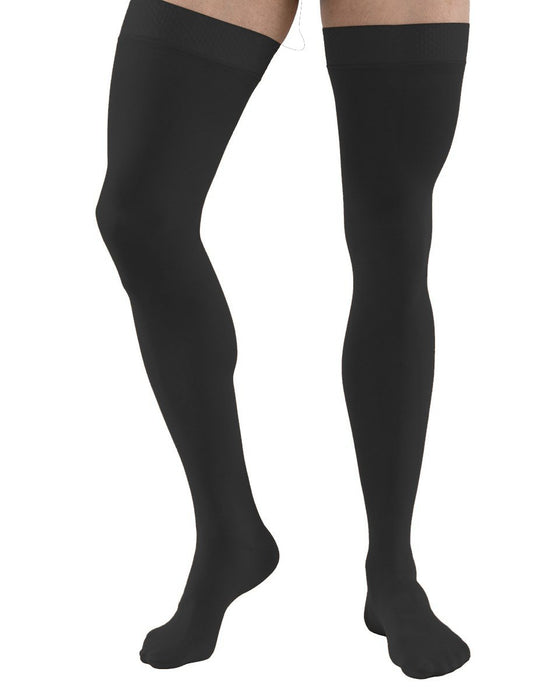 Activa Unisex Soft Fit Graduated Therapy Thigh Highs 20-30 mmHg with Uni-Band Top