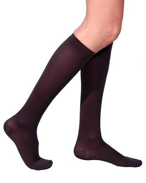 Sigvaris 230 Cotton Series Women's Closed Toe Knee Highs 20-30 mmHg - 232C