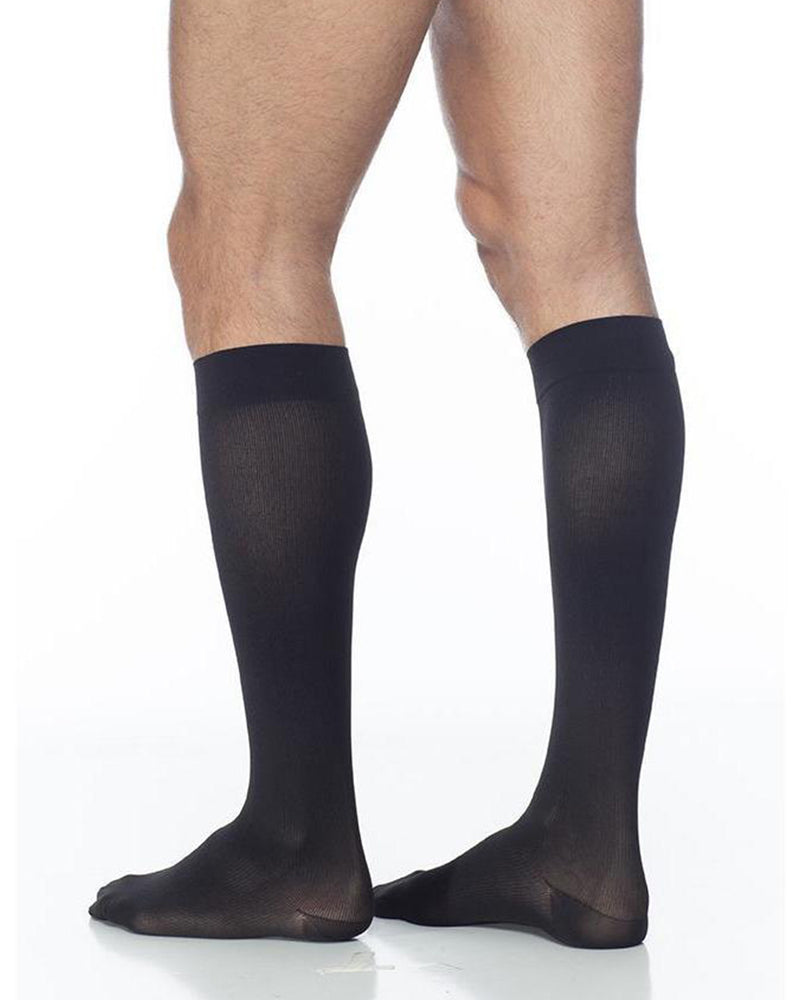 Sigvaris 230 Cotton Series Men's Closed Toe Knee Highs 30-40 mmHg - 233C