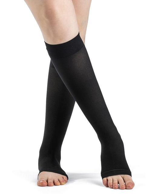 Sigvaris Dynaven  970 Series  OPEN TOE Knee Highs 15-20 mmHg - 971C