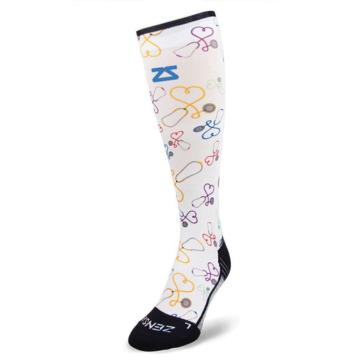 Zensah Stethoscopes Compression Socks (Knee High)