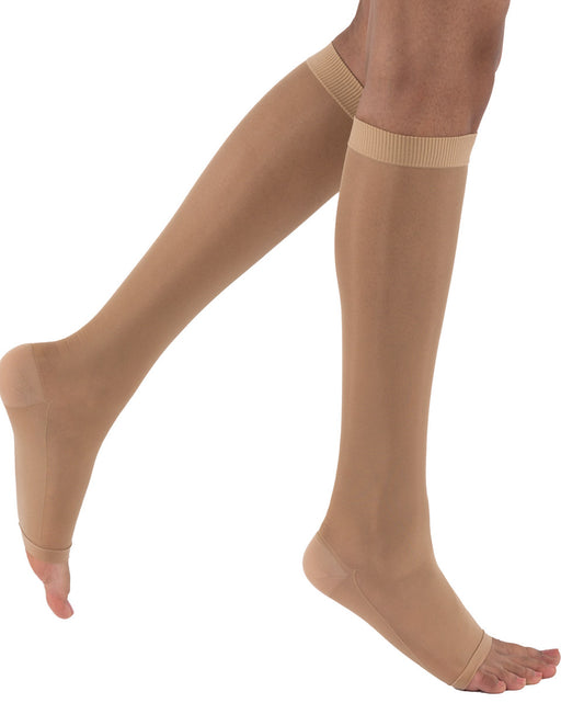 Activa Sheer Therapy Open Toe Knee Highs 15-20 mmHg