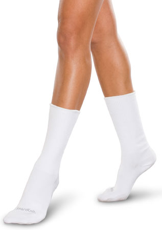 Therafirm SmartKnit CoolMax Seamless Diabetic Crew Socks