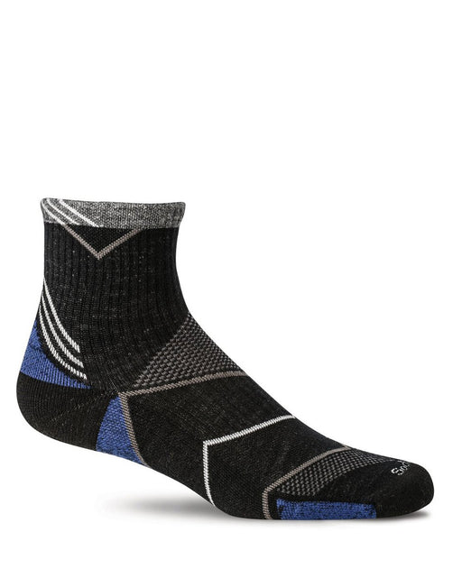 Sockwell Incline Men's Athletic Quarter Socks 15-20 mmHg