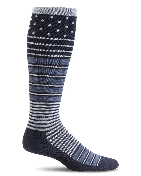 Sockwell Twister Women's Knee Highs 20-30 mmHg