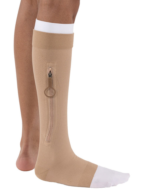 Jobst UlcerCare Zippered Unisex Open Toe Knee Highs