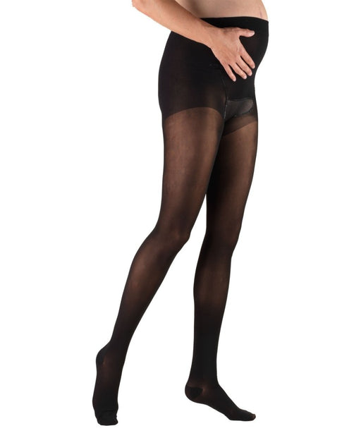 Second Skin Women's Sheer 20-30 mmHg Maternity Pantyhose