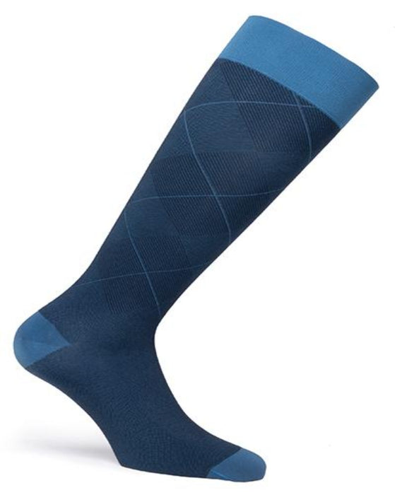 Jobst Casual Pattern 15-20 mmHg Closed Toe Knee Highs