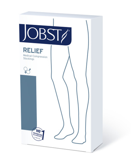 Jobst Relief Single Leg Chap Open Toe 20-30 mmHg