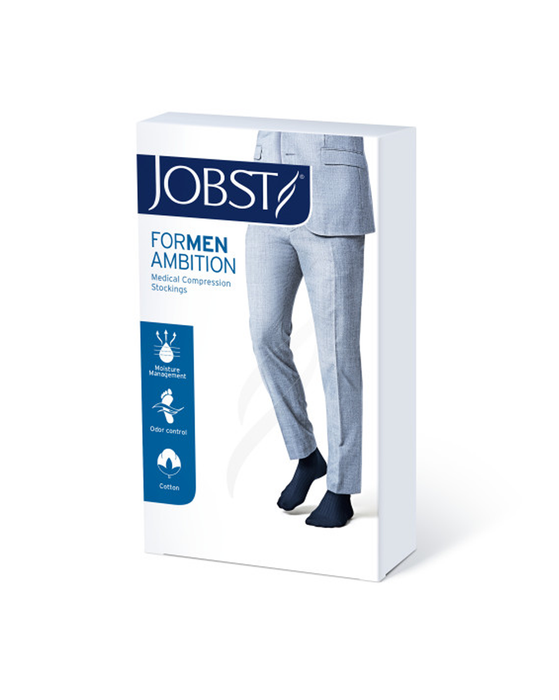 Jobst for Men Ambition Softfit Knee High Ribbed 30-40 mmHg