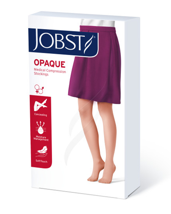 Jobst Opaque SoftFit Closed Toe 15-20 mmHg Knee Highs